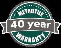 40 Year Warranty